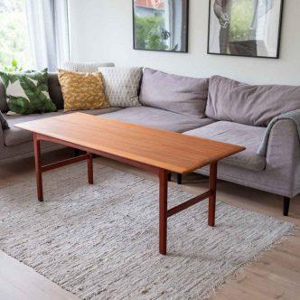 Soffbord i teak design Folke Ohlsson